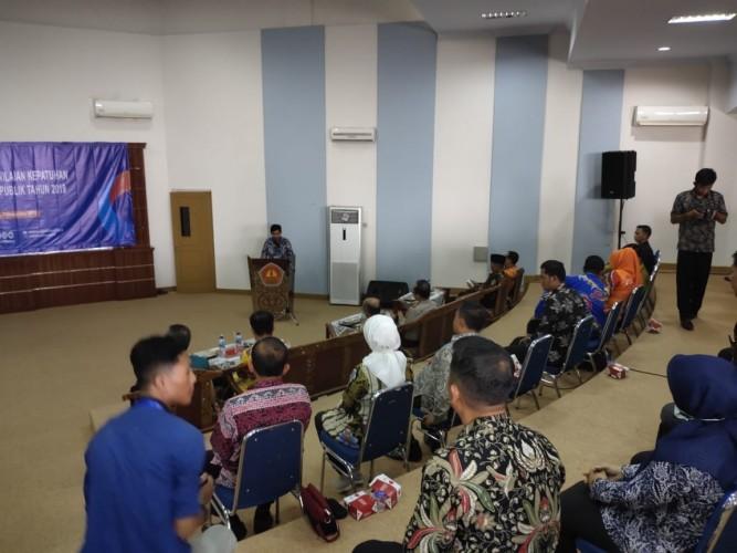 Ombudsman Lampung Rilis Hasil Kepatuhan dan Pelayanan 9 Kabupaten