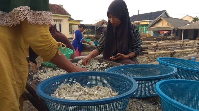 Omzet Pedagang Ikan Asin Anjlok Terimbas Pancaroba
