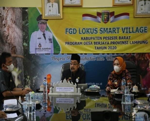 OPD di Pesisir Barat Diinstruksikan Sukseskan Program Desa Berjaya