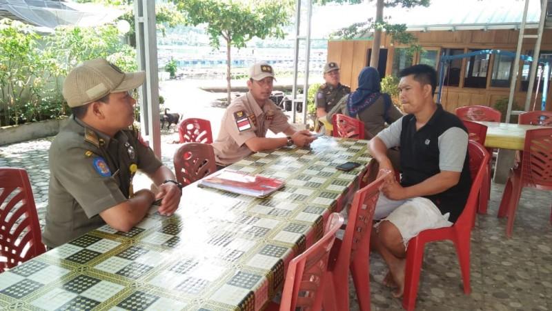 Operasi Cipta Kondisi di Lambar Jaring Pedagang Penjual Tuak