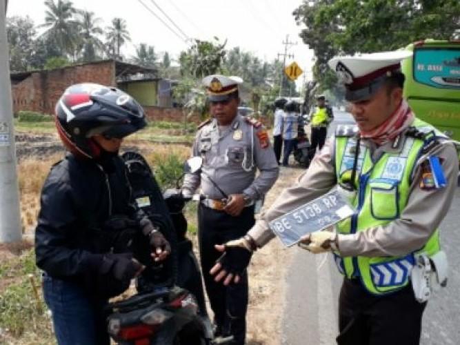 Operasi Patuh, Pelanggaran Didominasi Tak Pakai Helm