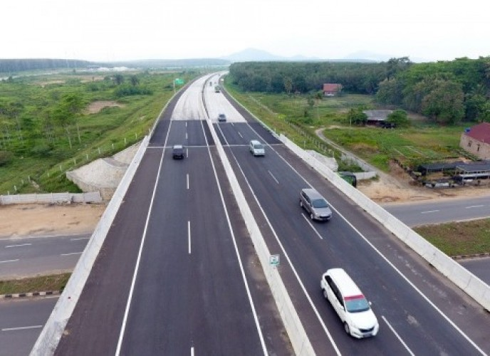 Operasional Tol Trans Sumatra Capai 500 KM Akhir Tahun Ini