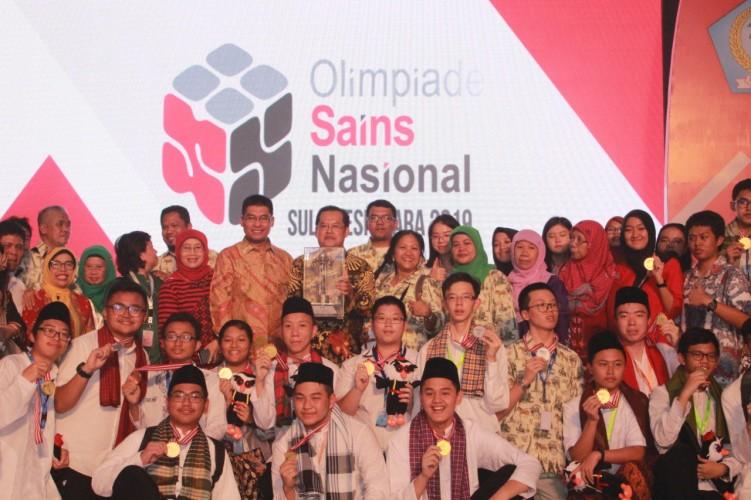 OSN SMA, Lampung Dapat 5 Medali Perunggu