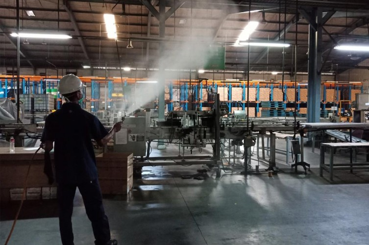 Pabrik Pelumas Sterilisasi Fasilitas Produksi dan Area Operasional