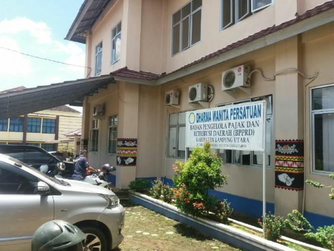 PAD Retribusi Parkir Lampung Utara Turun
