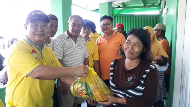 Paguyuban Marga Huang Lampung Gelar Bakti Sosial Jelang Ramadan