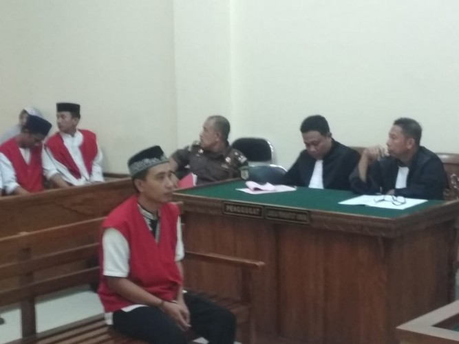 Palsukan Uang, Warga Tegineneng Divonis 30 Bulan Penjara