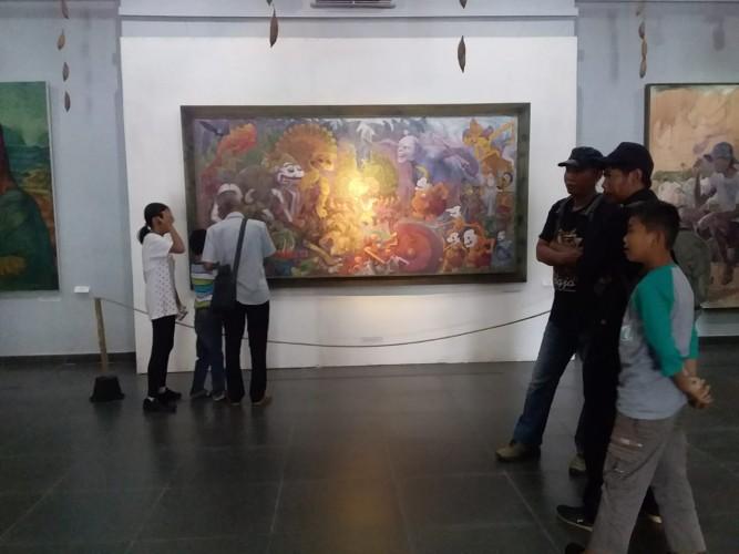 Pameran Alumni SMSR Dibuka Hingga Kamis di Taman Budaya