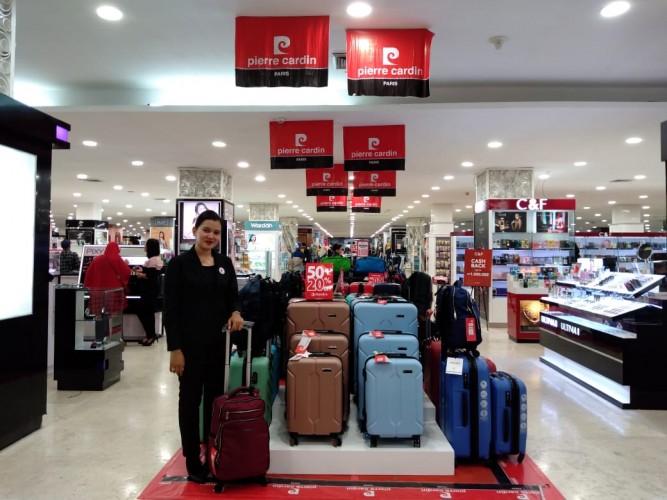 Pameran Fesyen dan Promo Berhadiah Penuhi Chandra