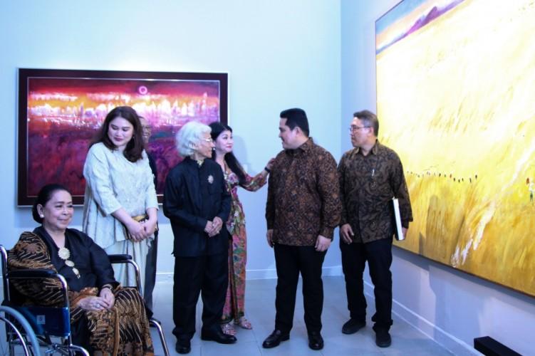 Pameran Lukisan Srihadi Ceritakan Perubahan Indonesia