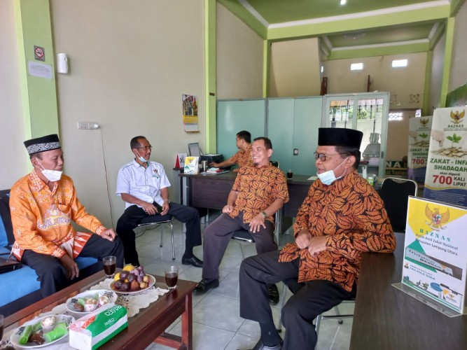 Pandemi, BAZNAS Lampung Utara Berhasil Tingkatkan Zakat Perorangan