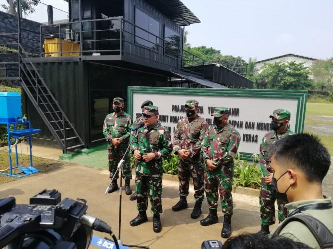 Pangdam Jaya Resmikan Sarana Latihan Pertempuran Yonif Mekanis 201/Jaya Yudha
