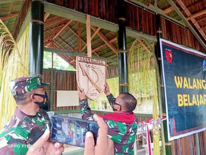 Pangdam Pattimura Merintis Walang Belajar pada Hari Anak Nasional
