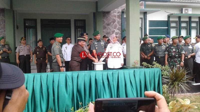 Pangdam Sriwijaya Resmikan Kodim 0429 Kabupaten Lamtim