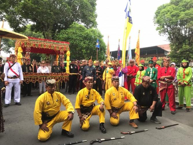 Pangeran Alprinse Pimpin Muhibah ke Pakualaman Yogyakarta