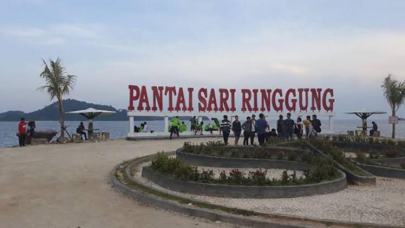 Pantai Sari Ringgung Tunggu Pemda Untuk Buka Lagi