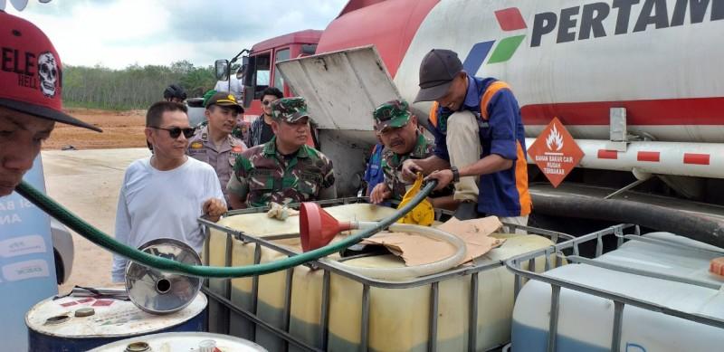 Pantau Mudik, Dandim 0426 Tinjau Tol Trans Sumatera