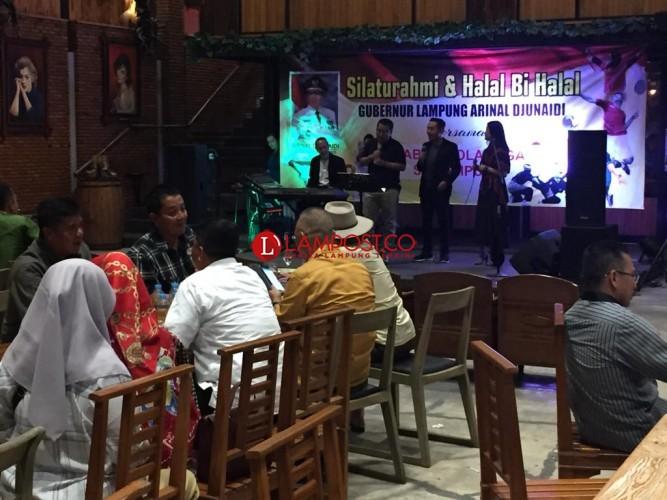 Para Tokoh Lampung Hadiri Halalbihalal Gubernur dan Pengprov KONI