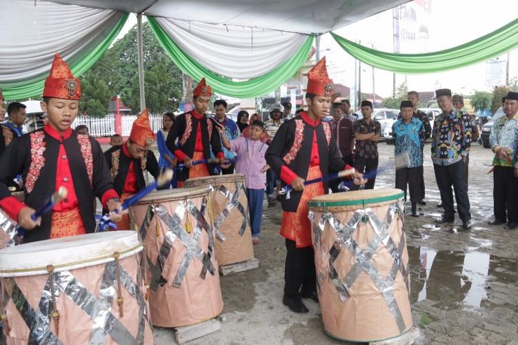 Parade Bedug Meriahkan Peringatan Tahun Baru Islam di Pringsewu