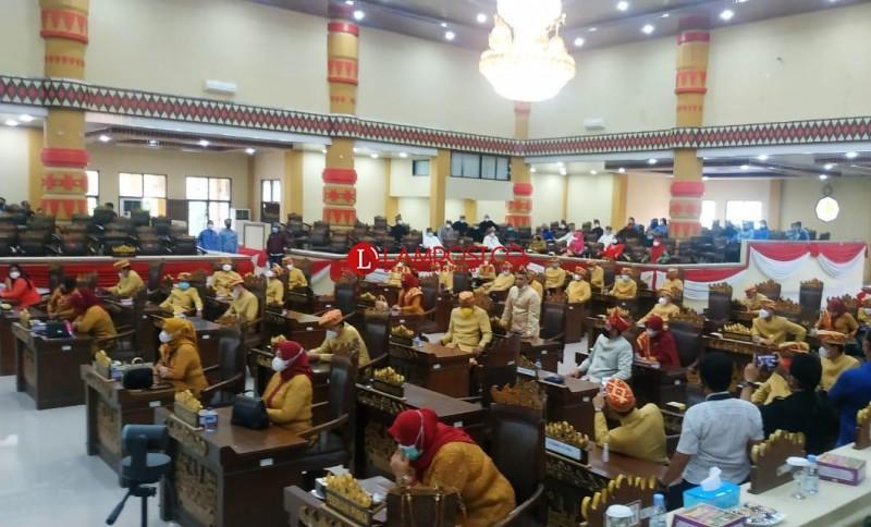 Paripurna HUT Ke-339 Bandar Lampung Diwarnai Pengembalian 28 Undangan dari Wiyadi