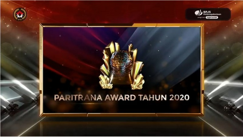 Paritrana Awards 2020 Digelar, BPJamsostek Imbau Pemda Dukung Penuh Implementasi Jaminan Sosial Ketenagakerjaan
