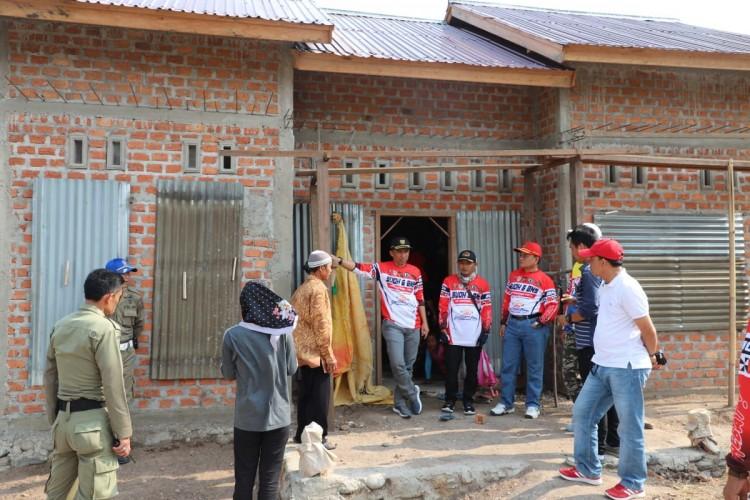Parosil Cek Pembangunan Rumah Untuk Lindungi Perambah