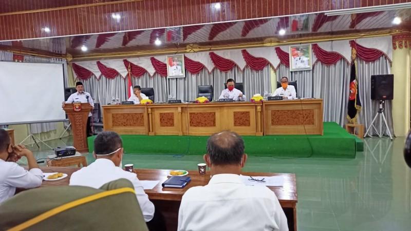 Parosil Geram, Sejumlah Kepala OPD dan Camat Absen Rakor