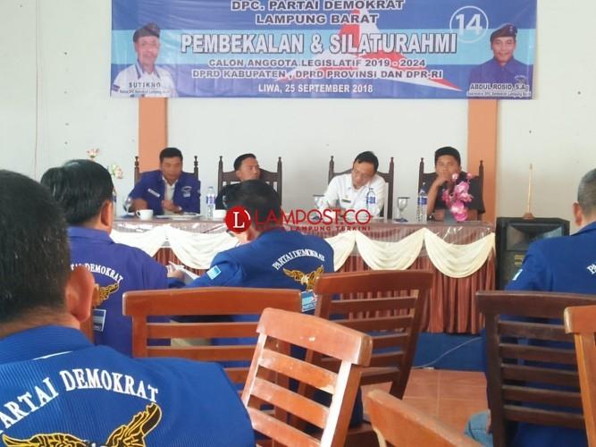 Partai Demokrat Lambar Mengundang KPU Beri Pembekalan Caleg