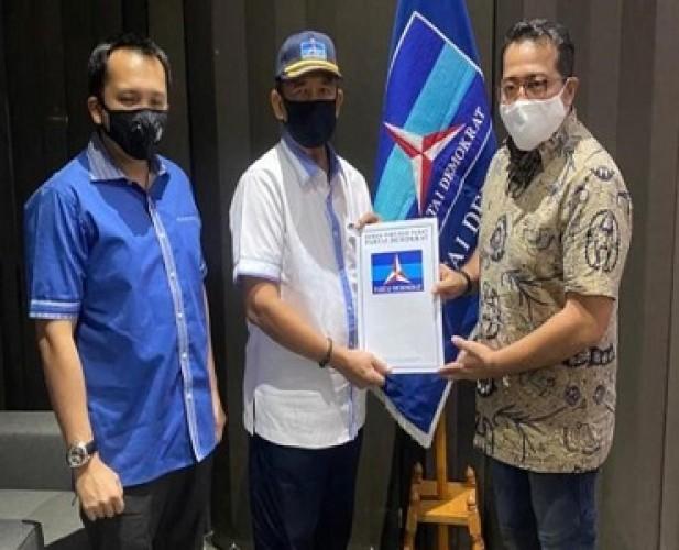 Partai Demokrat Usung Djohan Maju Pilwalkot Metro