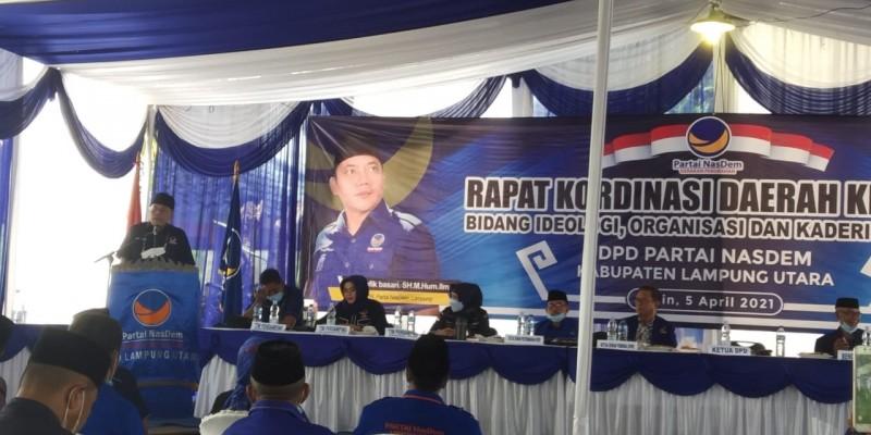 Partai NasDem Siap Genjot Pembangunan di Lampung Utara