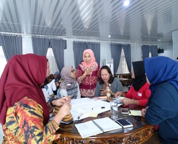 Partisipasi Angkatan Kerja Perempuan di Lampung Rendah