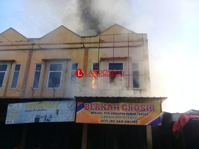 Pasar Gadingrejo Terbakar Pagi Ini