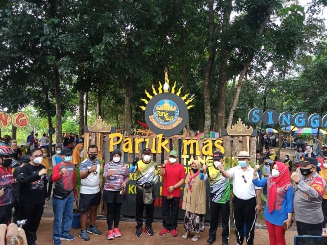 Pasar Kreatif di Metro Pakai Koin Bambu sebagai Alat Tukar