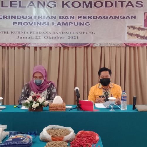 Pasar Lelang Komoditas Pertanian Lampung Raup Rp192 Juta