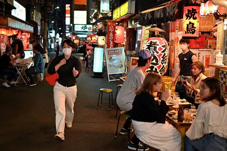 Pasar Malam di Jepang di Era Normal Baru