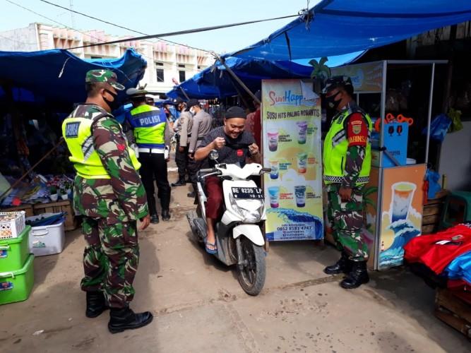 Pasar Masih Jadi Sasaran Penegakan Prokes