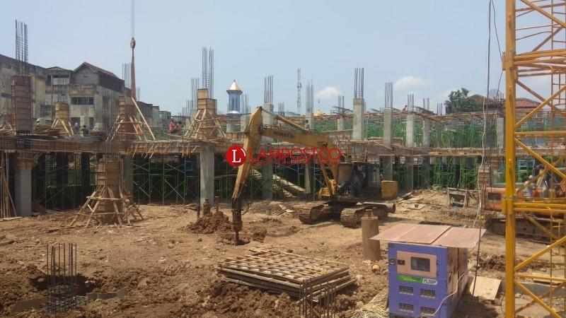 Pasar SMEP Dibangun Dua Lantai