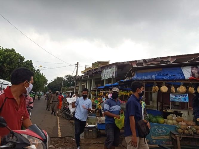 Pasar Tempel Rajabasa Mulai Terapkan Protokol Kesehatan