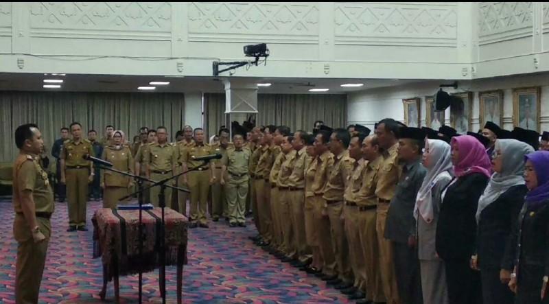Pascamutasi Pejabat, Pemprov Lampung Komitmen Tata Kembali Birokrasi Sesuai Regulasi