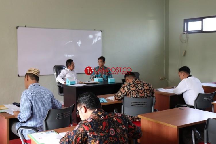 Pascasarjana UIN Raden Intan Gelar Ujian Beasiswa 5000 Doktor