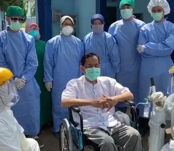 Pasien 04 Positif Covid-19 di Lampung Sembuh