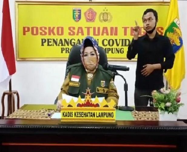 Pasien Covid-19 di Lampung Bertambah 1 Jadi 299 Kasus