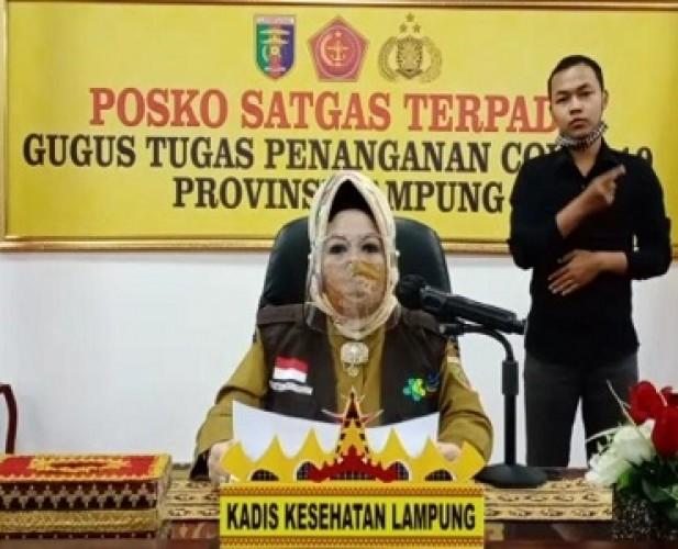 Pasien Covid-19 di Lampung Bertambah 2, Satu Kasus Perdana di Lamtim