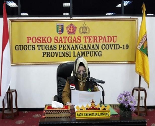 Pasien Covid-19 Lampung Tetap, PDP Tambah Dua Orang