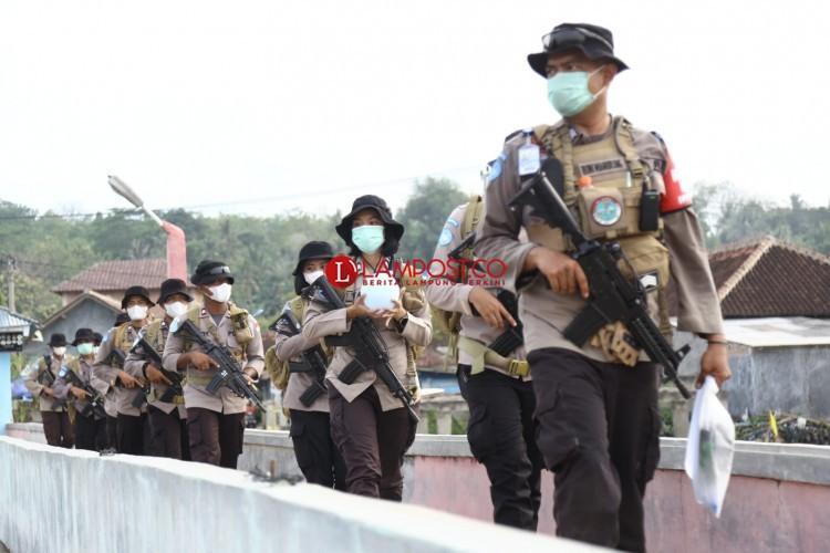 Pasukan FPU 3 Minusca Jalani Pembaretan di Tegal Mas