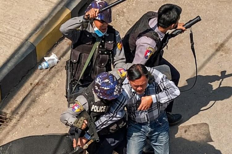 PBB Sebut 18 Pedemo Myanmar Tewas Ditembak Polisi