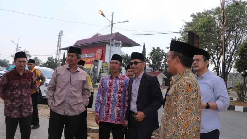 PBNU Cek Kesiapan Lampung Tuan Rumah Muktamar