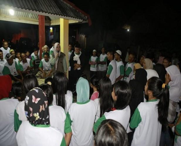 PBNU RestuiImam Suhadi Dampingi Nessy Mustafa di Pilkada Lamteng