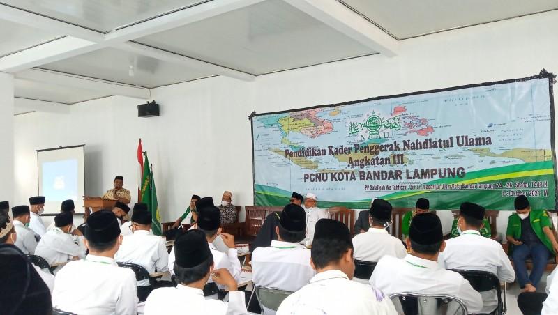 PCNU Bandar Lampung Jaring Kader Perkokoh Komitmen Kebangsaan