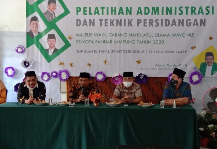 PCNU Bandar Lampung Kuatkan Struktur Tingkat Kecamatan